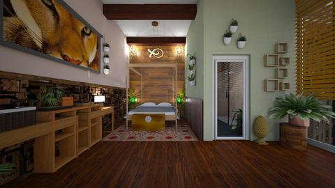 Jungle Freak - Bedroom - by abards97