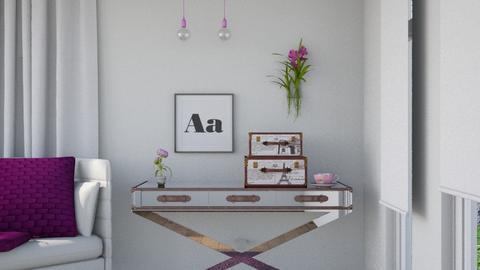 Purple Pop - Modern - Living room - by Jessica Fox