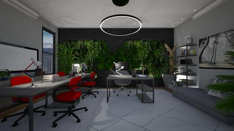 Urban jungle office - by Themis Aline Calcavecchia