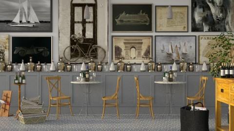 Bistro Photo Wall - by Mum Dali