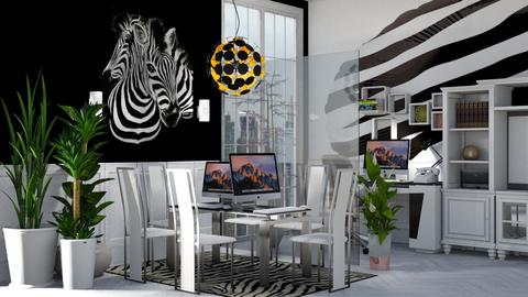 jung office zebra - by nat mi