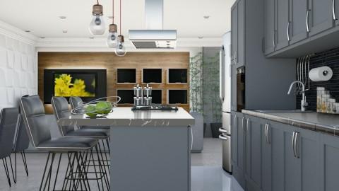 Tonelli - Modern - Kitchen - by aletamahi