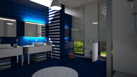 nautical  - Bathroom - by ClaraBart