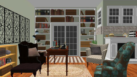 Law Office - Vintage - Office - by lucaylucay