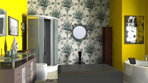 Our master bathroom - Eclectic - Bathroom - by wiljun