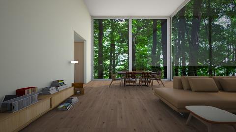 woodern - Modern - Dining room - by wilmaskold
