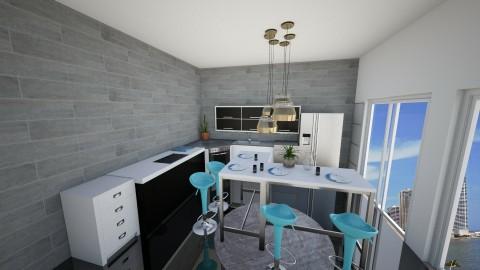 kitchen - by Larica bublica