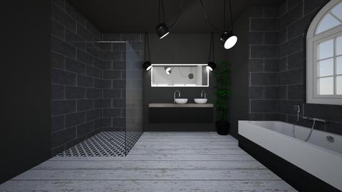 bahtroom black - Bathroom - by jovhke