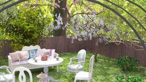 Secret garden-2 - Rustic - Garden - by Laurika