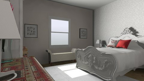red master bedroom - by gj123