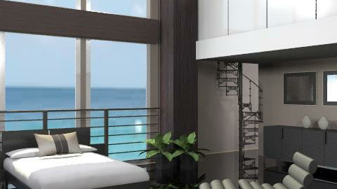 Black Sea - Modern - Bedroom - by channing4