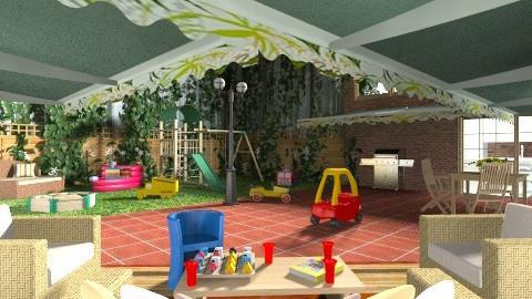 Courtyard - Eclectic - Garden - by Theadora