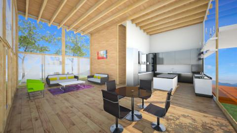 NatureMinimalLivingRoom - Minimal - Living room - by pabluches