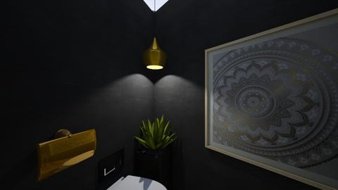 Cozy Toilet 1 - Bathroom - by zainab alkaram