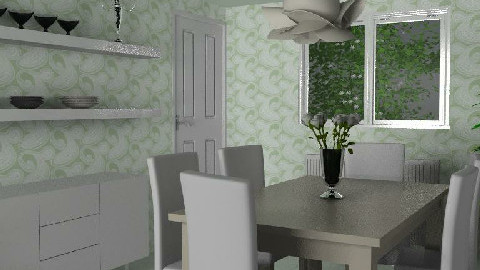 Dining Room for Liz 1 - Dining Room - by SylviaAst