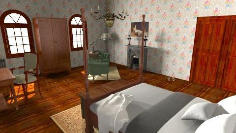 victorian - Bedroom - by Katie Gangloff
