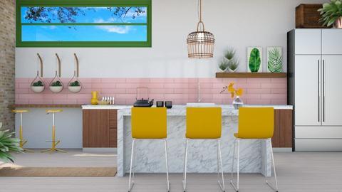Urban Jungle Kitchen - Kitchen - by fashionistafalida