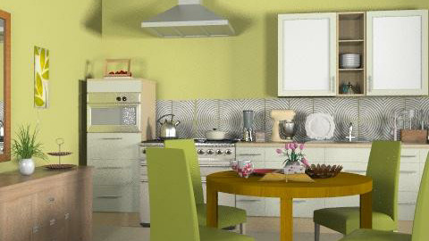 Tradicional kitchen_2 - Classic - Kitchen - by Laurika