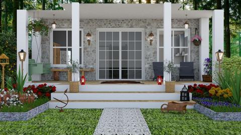 Porch - Garden - by TRMVM