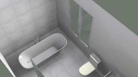 b551a - Rustic - Bathroom - by hannahjandrews