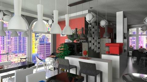 Coffe_House_San Francisco - Modern - Office - by anjuska9