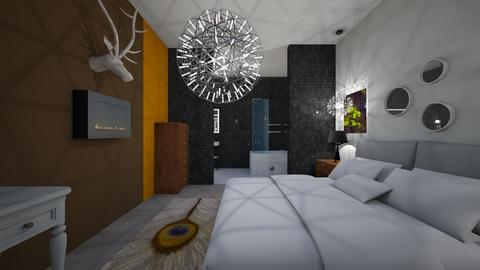 Gold Nugget - Bedroom - by With Ice Cream