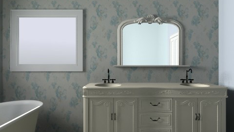 master bath - Vintage - Bathroom - by katelynjohns0n