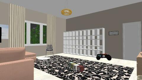 Cherry - Feminine - Living room - by Kaarina