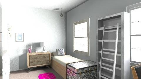 Modern teenage bedroom - Modern - Kids room - by sassleberry