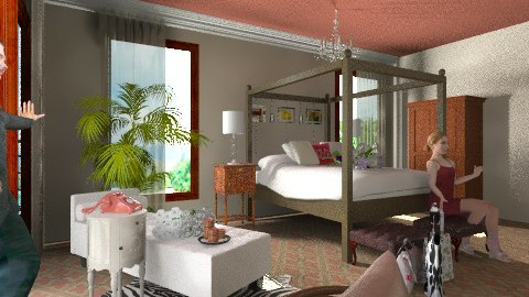 Bedroom - Modern - Bedroom - by nurumm