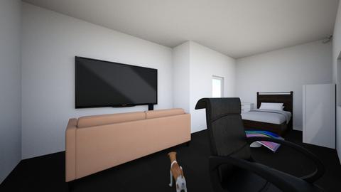 gaming room - Modern - by howlingwolf1122