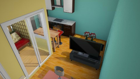 spark of Green 10 - Minimal - Living room - by herjantofarhan
