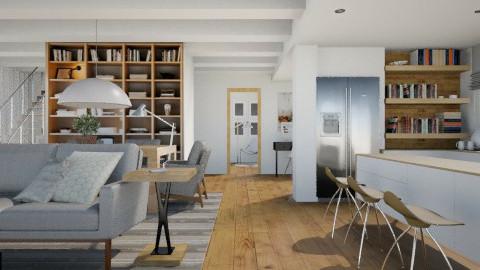 Heather - Modern - Living room - by Baustin