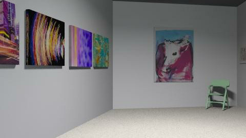 art studio - Minimal - by loladiaz
