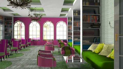 Cafe La Biblioteque - Eclectic - by liling