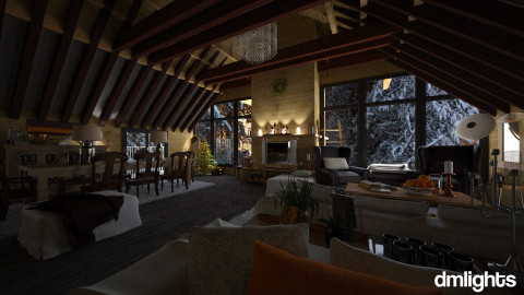 Fort William - Rustic - Living room - by DMLights-user-991288