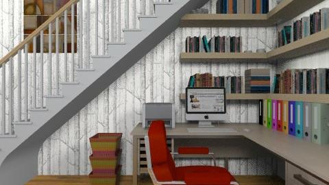 Under the Stairs - Modern - Office - by chloedaniella