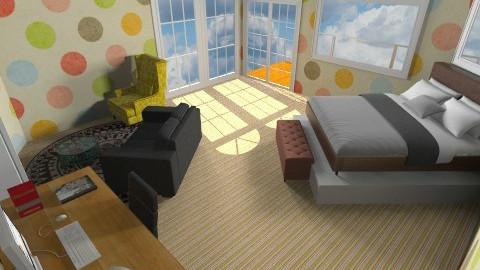 Polka dots - Modern - Bedroom - by Jacquie Ru