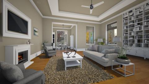 NYC Apt - Living room - by MandyB84