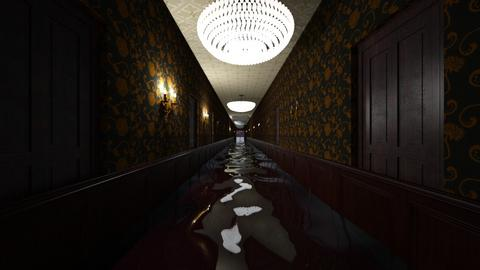 Cruise Ship Hallway Flood - by SammyJPili