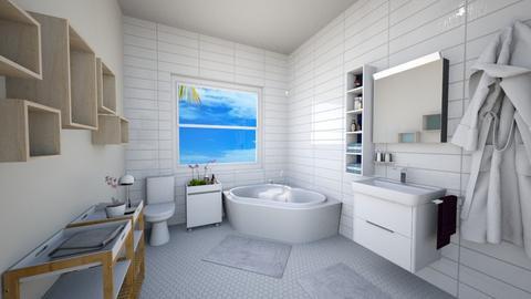 mid bath - Bathroom - by caponeA