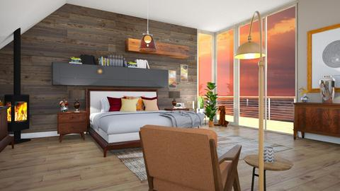 my room remix - Rustic - Bedroom - by neha123