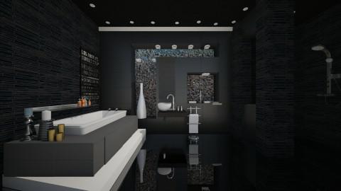 mercedes black - Modern - Bathroom - by sometimes i am here