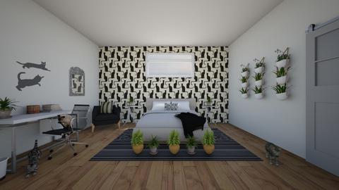 kittyroom - Bedroom - by denathoman