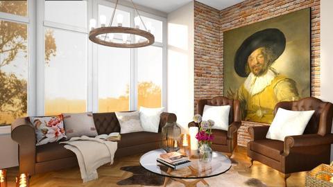Template Baywindow Room - Living room - by TamarK