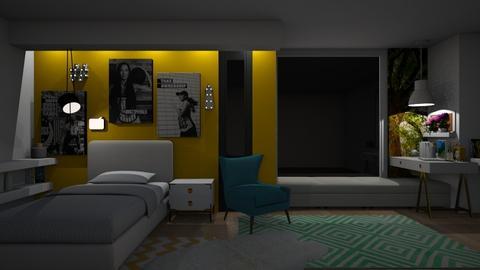 Teenager Bedroom - Bedroom - by Vlad Silviu
