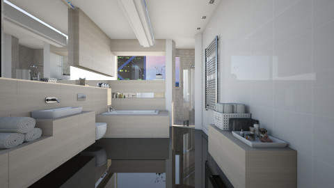 Virtual Bathroom - Eclectic - Bathroom - by evahassing