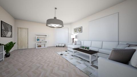 Haring Oak - Living room - by josielz