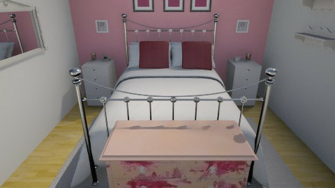 pink - Bedroom - by vickyreed24