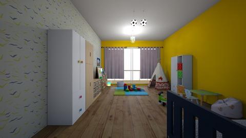 room Ksawcio - Bedroom - by kxw